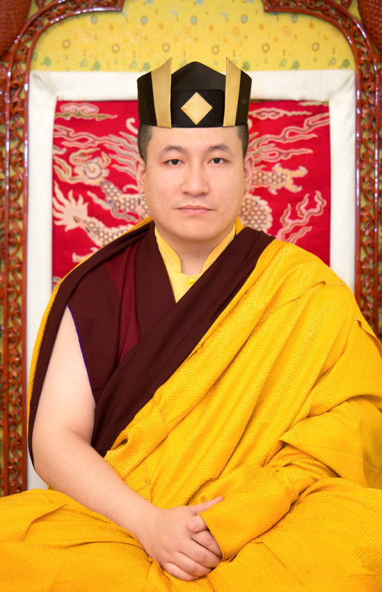 Official portraits of H.H. Gyalwa Karmapa with black hat